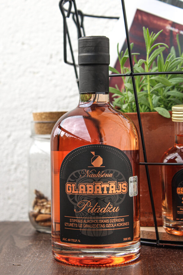 GLABĀTĀJS - Pīlādžu, 40%, 500 ml